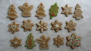 pepparkakor gingerbread biscuits decorated with royal icing