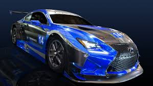 lexus sports car blue 2016 lexus rc f gt3 by f performance racing review top speed