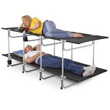 Bunk Bed Cots For Cing 2 Grizzly Bunk Cot 190220 Cots At Sportsman S Guide 3 Person