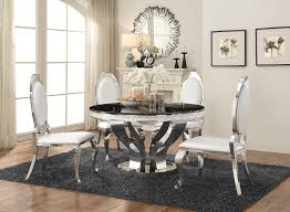 chrome dining room sets coaster anchorage chrome dining room set anchorage collection 8