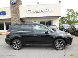 subaru forester touring crystal black silica 2014 subaru forester 2 0xt touring exterior