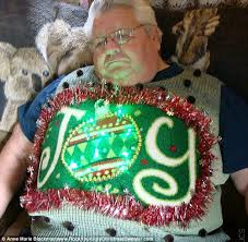 the ugliest christmas sweaters ever from flashing lights to