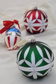 waterford glass ornaments god bless america flag