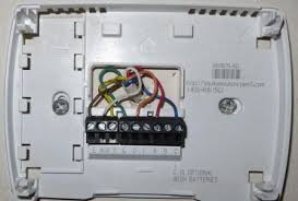 28 honeywell thermostat rth7600 wiring diagram honeywell