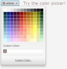 25 color picker release 8