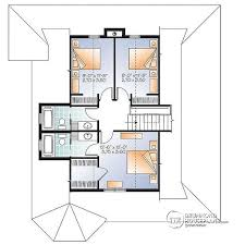 House With 2 Master Bedrooms House Plan W3506 V1 Detail From Drummondhouseplans Com