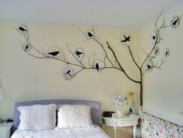 Diy Bedroom Wall Art Ideas Bedroom Wall Decor Stickers Ideas For Walls Cool Art Within
