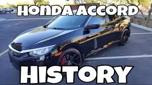 honda accord history history of honda accord all generations list of accord e4u