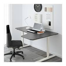 Black Corner Office Desk Interior Design Black Corner Workstation White Gold Desk Grey