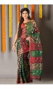 dhakai jamdani saree buy online dhakai jamdani saree colors of bengal adi5593