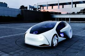 toyota auto car ces 2017 toyota unveils the cool concept i autonomous car wired