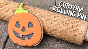 halloween cookies your logo embossed cookies custom rolling