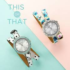 bracelet watches with charms images Interchangeable origami owl watch faces and wrap bracelets jpg