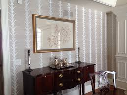 Removable Grasscloth Wallpaper Celerie Kemble For Schumacher Grass Cloth Wallpaper Dining Room