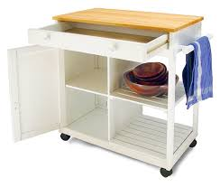Mobile Kitchen Island Butcher Block by Amazon Com Catskill Craftsmen Preston Hollow Kitchen Cart Bar