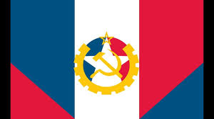 Communist Canada Flag Alternate History What If France Became Communist Youtube