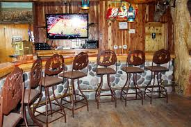 Log Cabin Furniture Rustic Bar Stools And Furniture