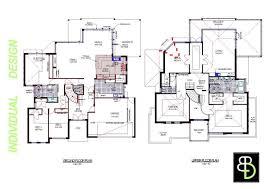 2 story modern house plans home design modern 2 story house floor plans contemporary la