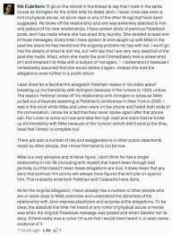 letter to jennifer allen regarding false and defamatory statements