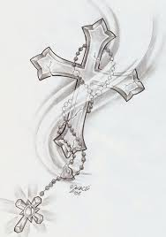 Cross Tattoos On - learn more about cross shine rosary lilz eu