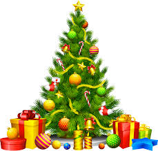 christmas tree with gifts clipart clipartxtras