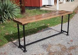 Wooden Sofa Tables by Farmhouse Sofa Table Ideas