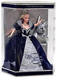 mattel year 2000 barbie holiday season series 12 inch doll