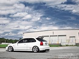 honda civic modified white 1997 honda civic type r arcade to ctr modified magazine