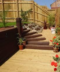 Garden Sleeper Ideas Wooden Garden Sleepers Yes Or No To Railway Sleepers In The