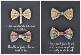 how to make girl bows diy no sew bow tie hair bows make lovely