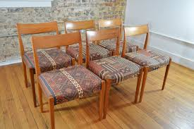 troeds bjarnum sweden set of six teak dining chairs galaxiemodern