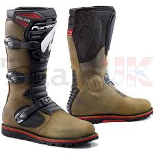 wulf motocross boots forma boulder riding boot for trials enduro off road ebay