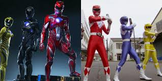 new power rangers trailer with theme of 90 u0027s show