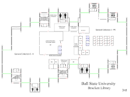 floorplans for ball state university libraries