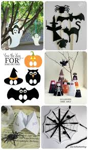 Kids Halloween Printables by
