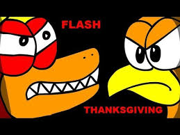 attack on turducken skylanders flash thanksgiving