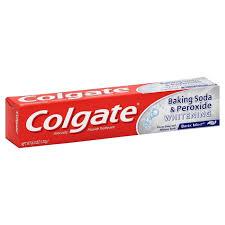 toothpaste whitening baking soda whitening toothpaste 6 oz tube