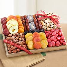 dried fruit gifts sweet extravagance dried fruit and nut crate gift baskets