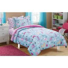 Bedding In A Bag Sets Photo Kidz Mix Unicorn In Bag Set Walmart Literarywondrous