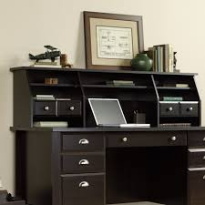 Executive Desk With Hutch Shoal Creek Organizer Hutch 408750 Sauder