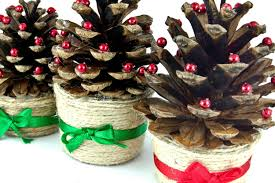 how to make pine cone christmas trees netmums