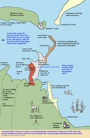 Map Of The South Studland South Haven Peninsula Poole Harbour Side Geology And