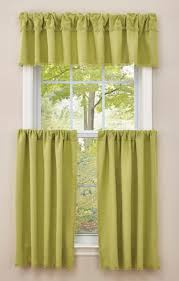 Yellow Gingham Valances by Crawford Kitchen Tier Pair Aloe Park Designs View All