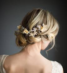 wedding flowers in hair 25 best braids for brides images on hairstyles
