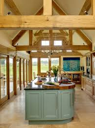 border oak kitchen extension with oak framing border oak