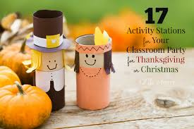17 easy classroom party ideas for thanksgiving or christmas