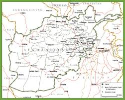 Germany Political Map by Political Map Of Afghanistan With Provinces