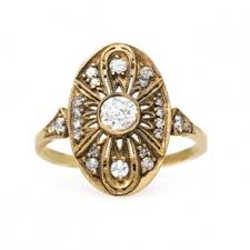 edwardian engagement rings edwardian engagement rings and more trumpet horn