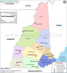 map usa new hshire new hshire county map new hshire counties