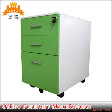 china home furniture movable cabinet pedestal mobile drawer file